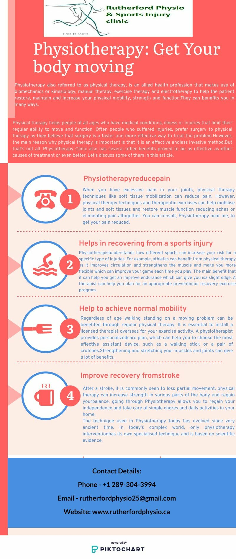Physiotherapy: Get Your body moving