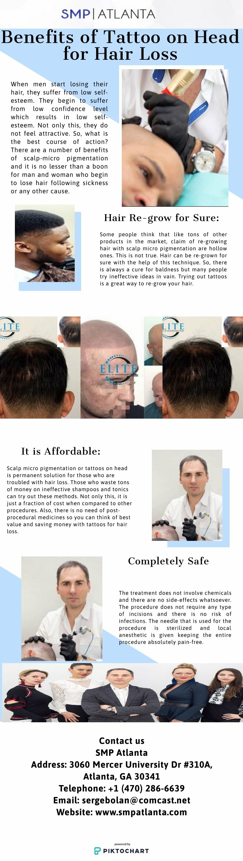 Benefits of Tattoo on Head for Hair Loss