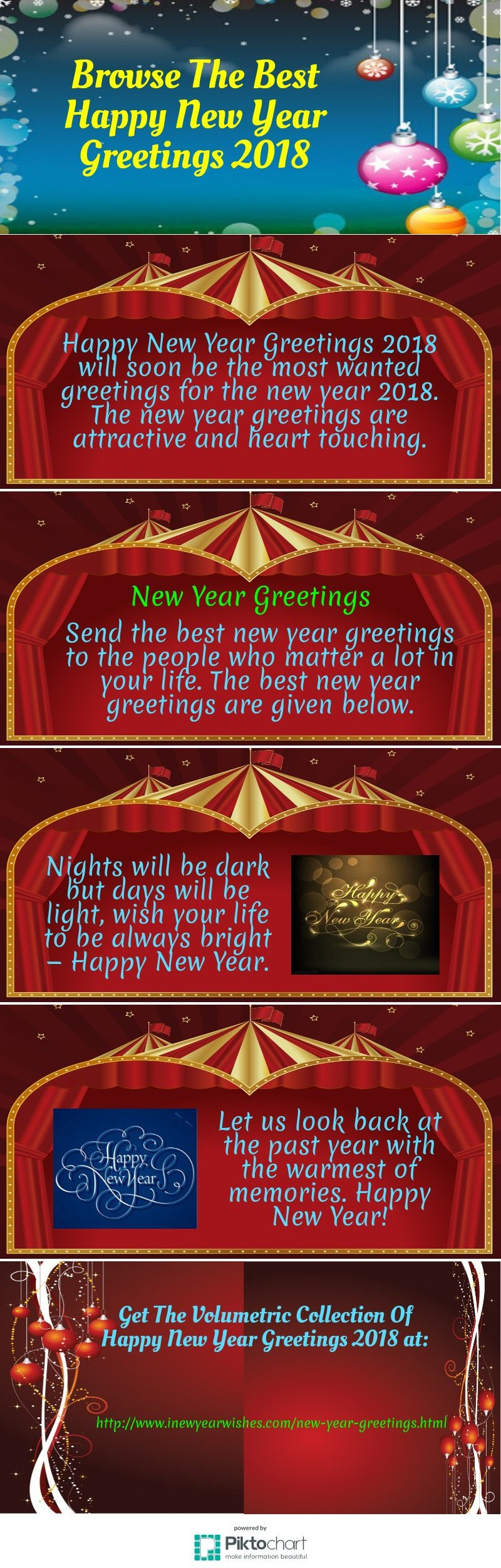 browse the best happy new year greetings 2018 piktochart visual editor