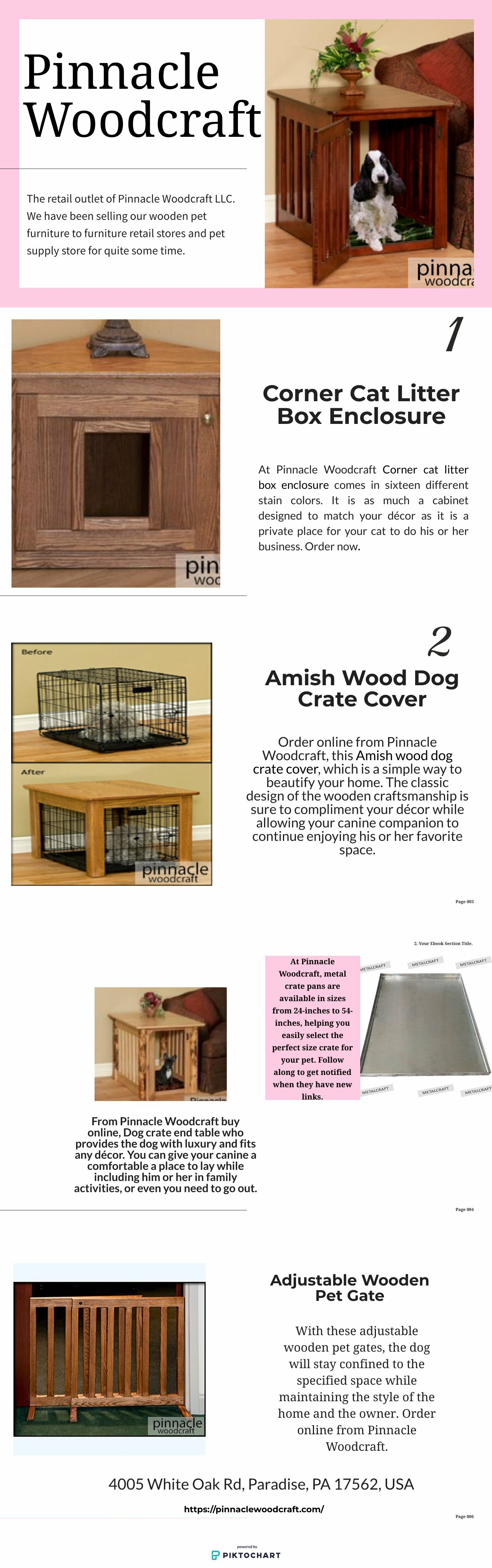 Amish Oak End Tables