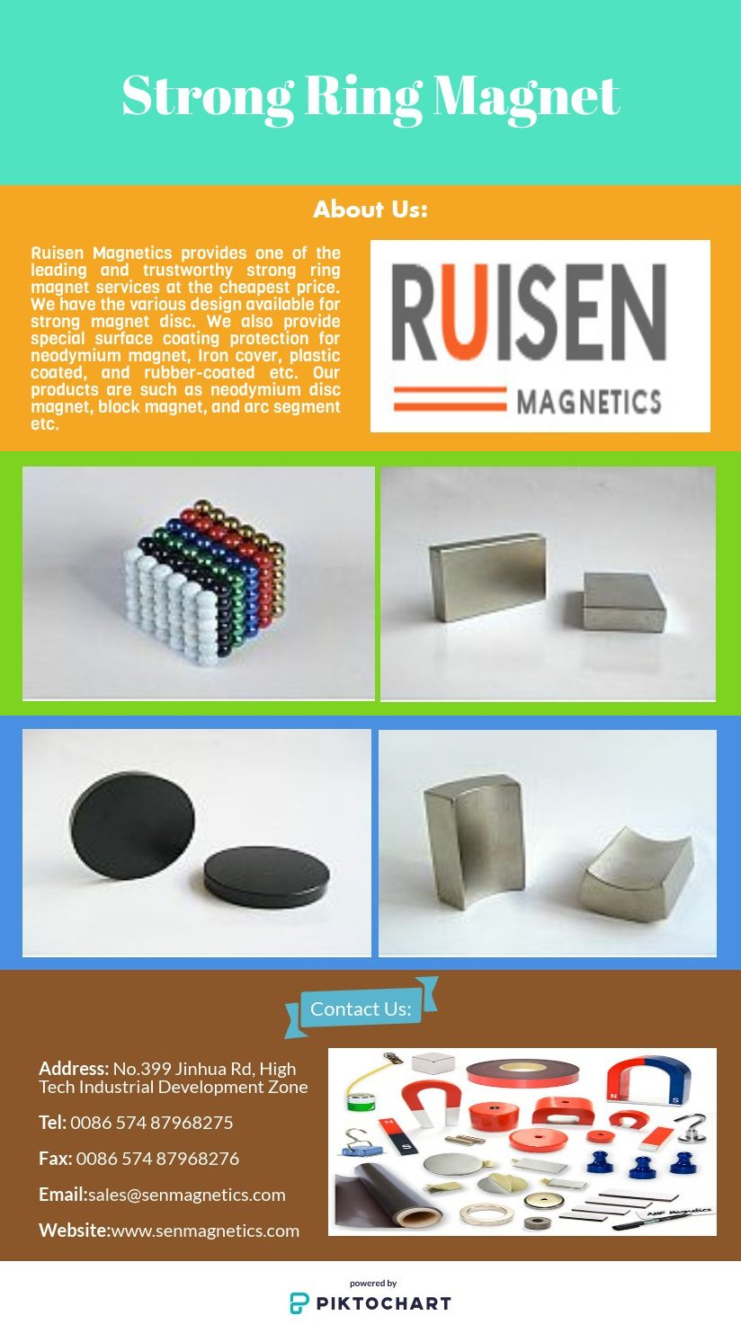 Affordable Strong Ring Magnet Services