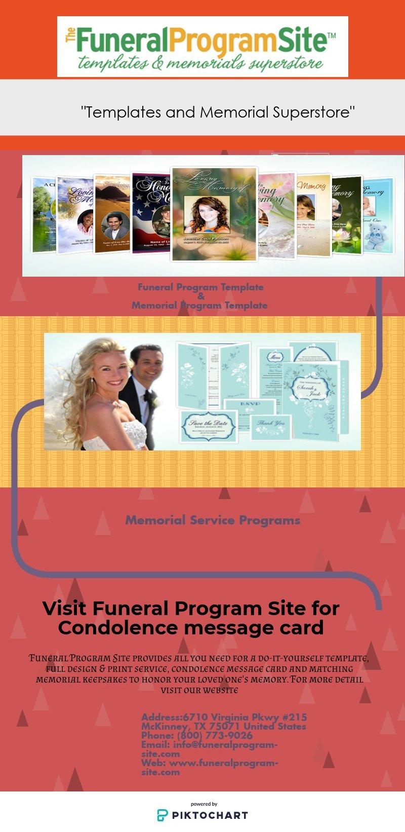 Funeral program site piktochart visual editor solutioingenieria Image collections