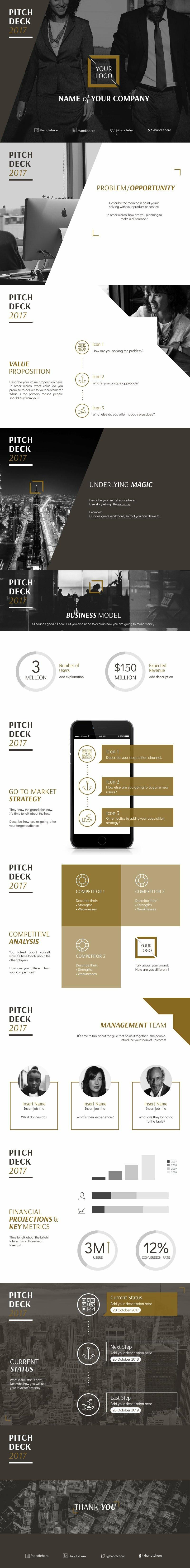 Business Pitch Deck