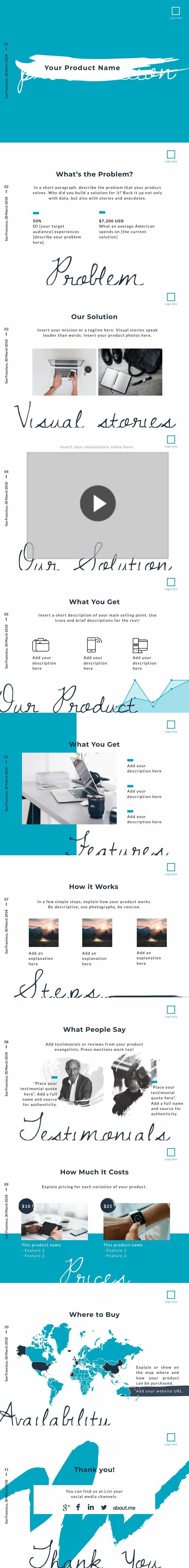 Sales Presentation Product 2