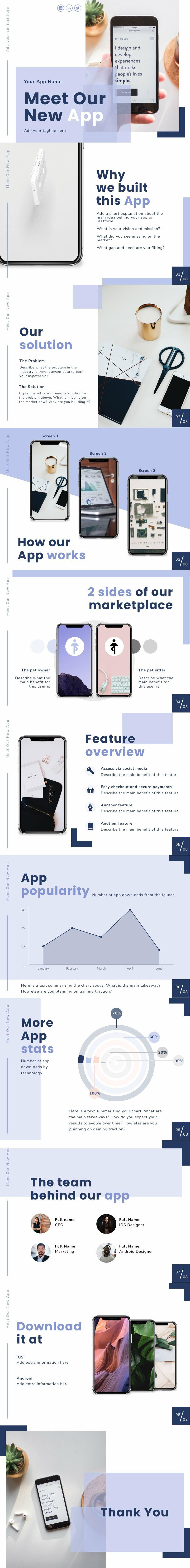 App Product Presentation