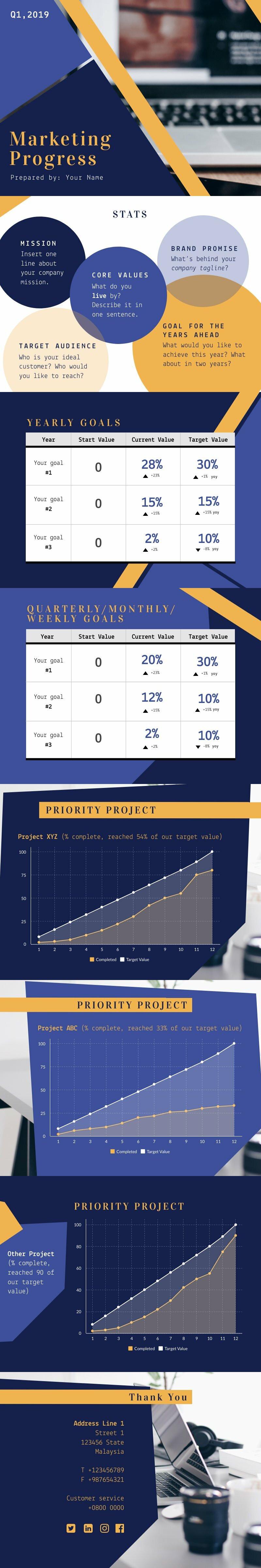Progress Report Marketing