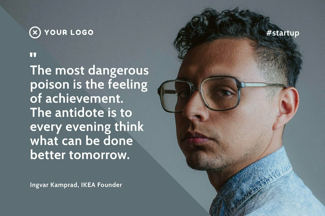 Startup Quote 02 LinkedIn Post