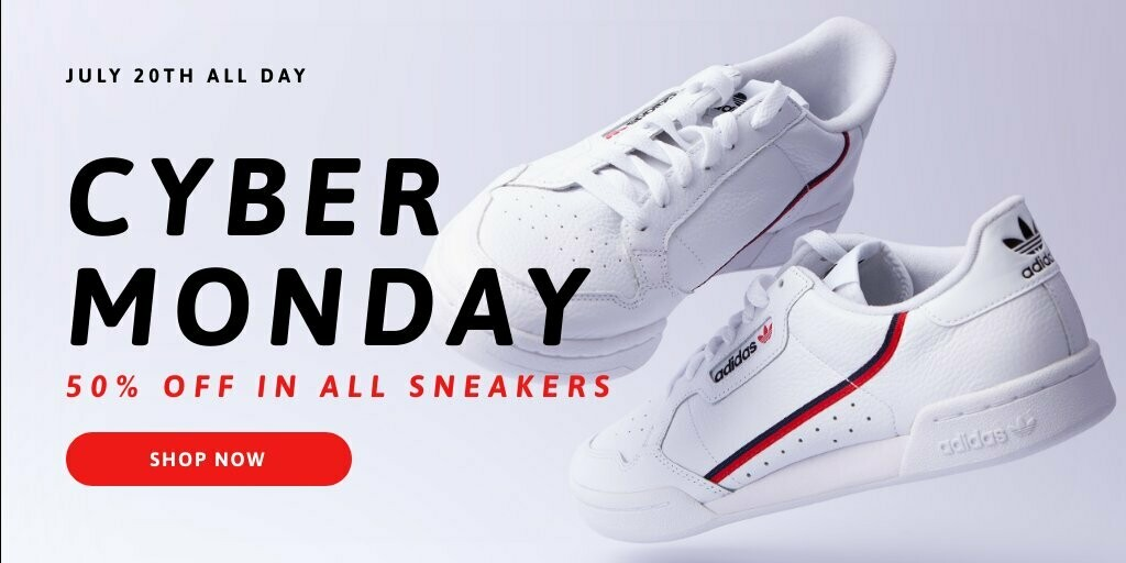 Cyber Monday Promo Twitter Post