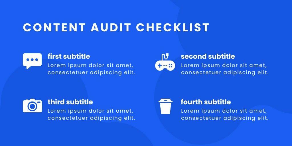Content Checklist Twitter Post