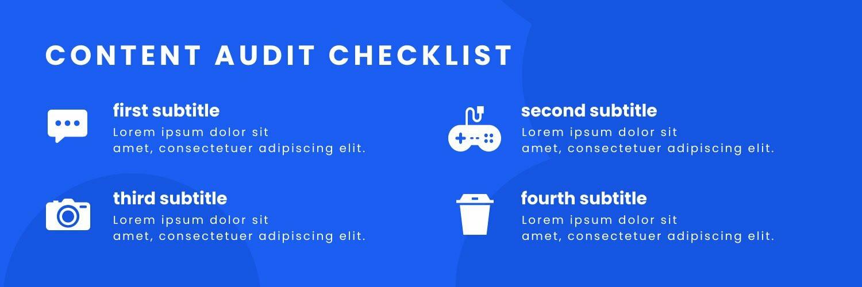 Content Checklist Twitter Header