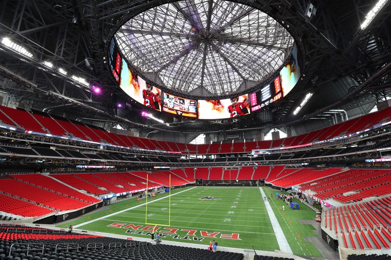 Comparing Mercedes Benz Stadium And Georgia Dome By The Numbers
