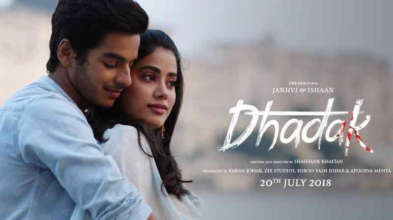 dhadak movies counter
