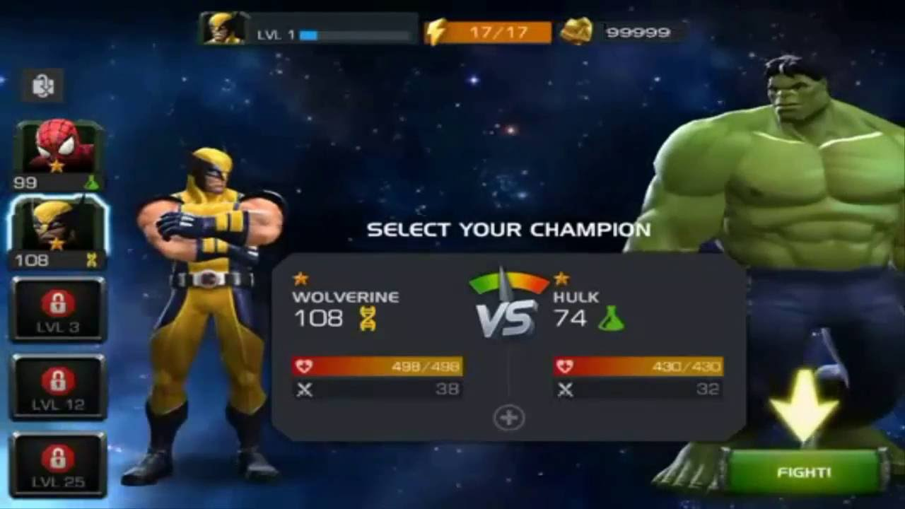 Marvel Contest Of Champions Hack Cheats Online Generator