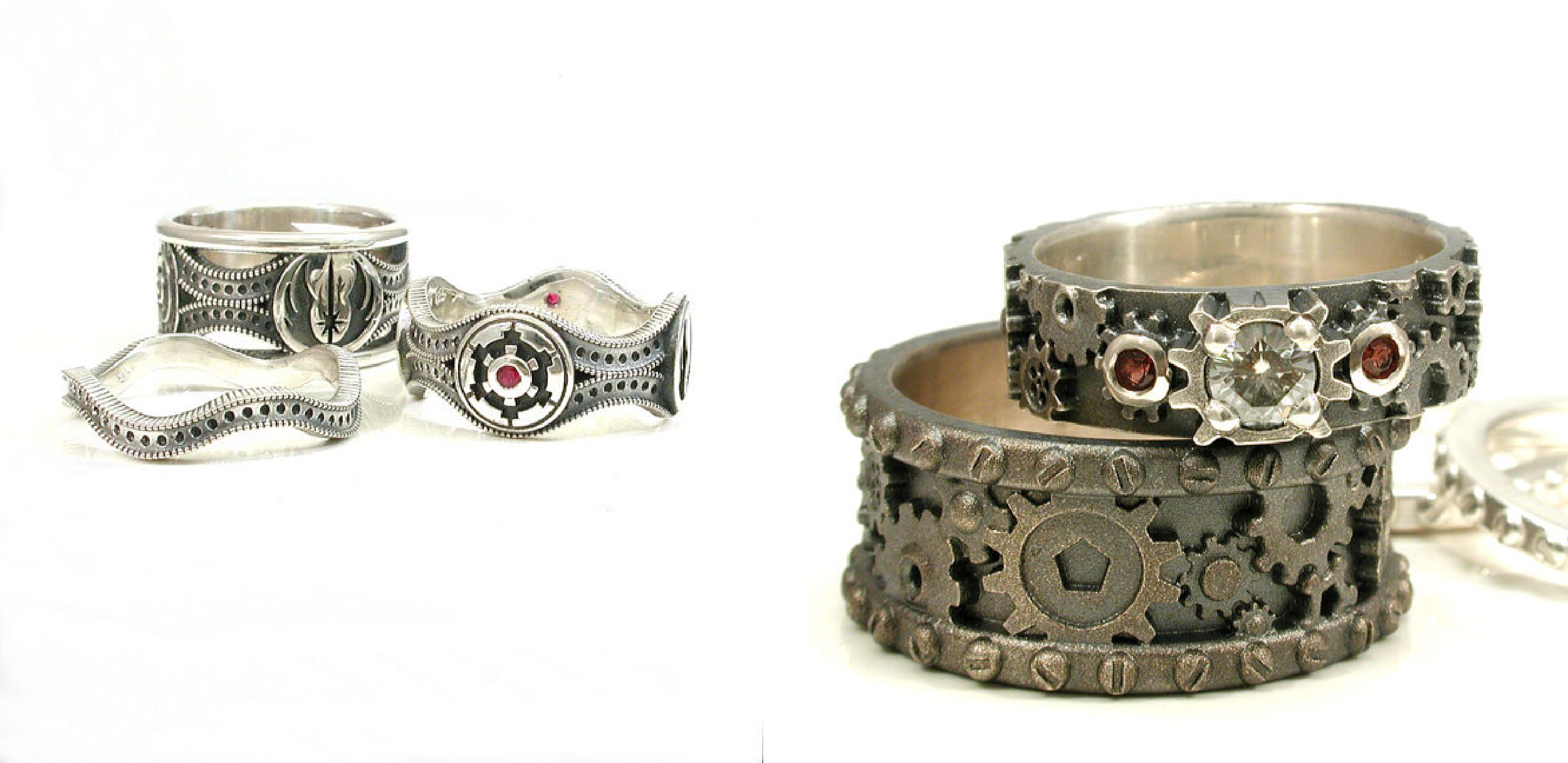 set custom rings butterfly konami mens ring band takayas nerd wedding and superman blog jewelry