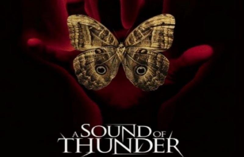 A Sound Of Thunder Analysis Poster Piktochart Visual Editor