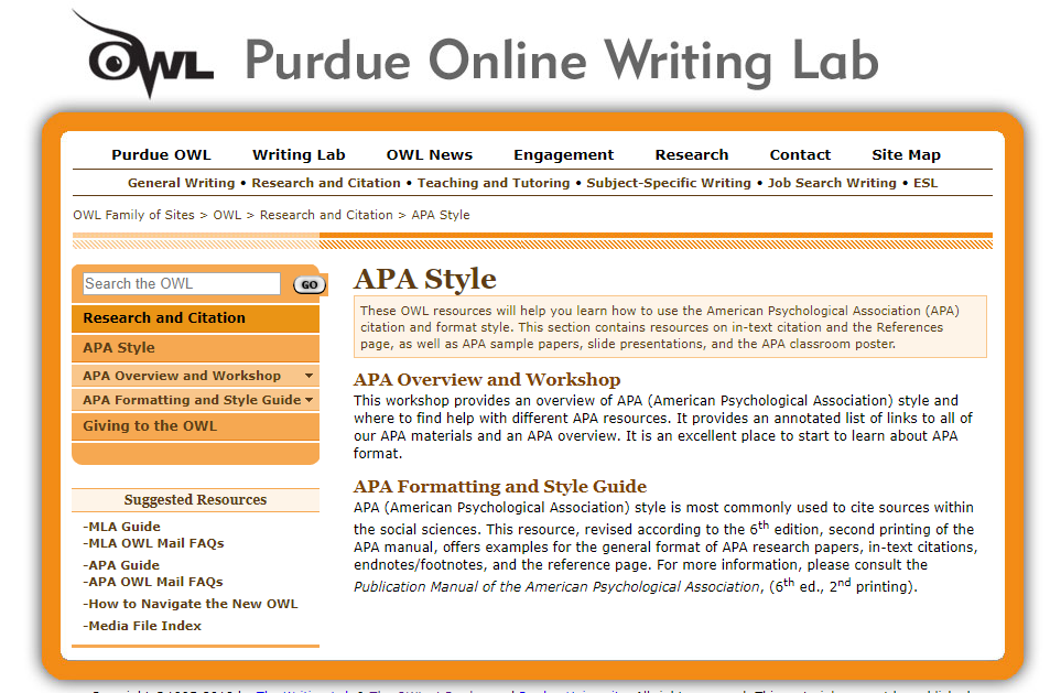 apa manual research paper Apa citation guide when writing an academic paper or otherwise conducting research, you are required to provide proper credit whenever you include any outside sources whether it is a book, website, magazine article, film or academic journal.