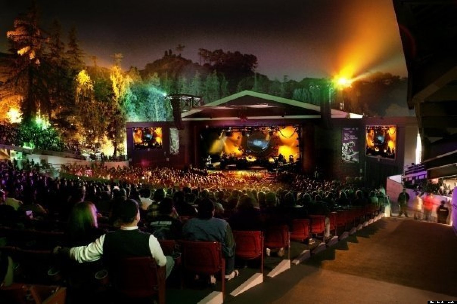 infographic: how to book concerts at the greek theatre – amplify